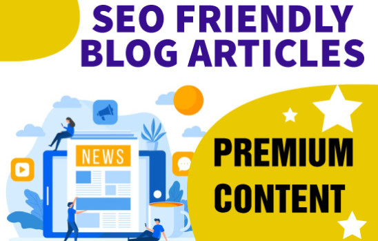 write SEO friendly blog articles