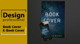 We Design Professional Book Cover and eBook Cover Designs for Your New Book
