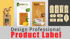 Professionally Designed Product Label Within 24 Hours