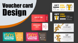 We Design Professional and Modern Voucher Designs for Your Business