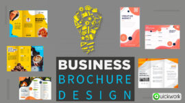 We Design Creative and Professional Bifold or Trifold Brochure Designs for Your Business
