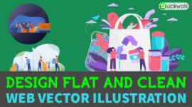 We Design Amazing Flat Illustrations for You