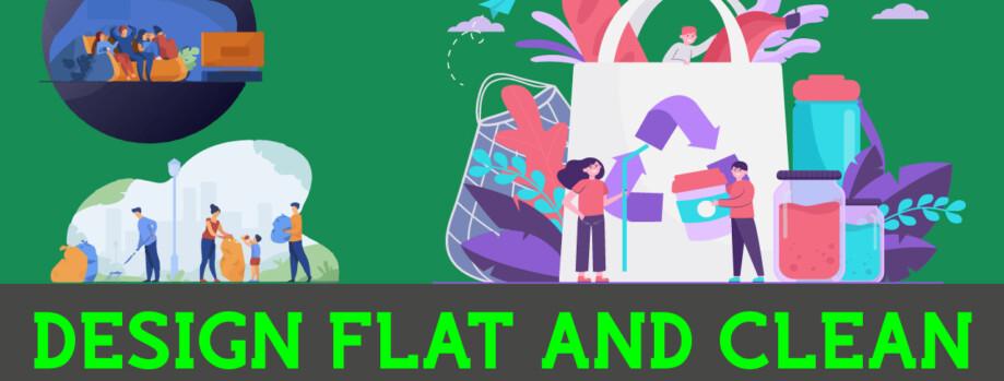 We Design Amazing Flat Illustrations for You